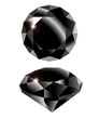 Vector black diamond - 57192918