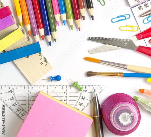 Büro-, Mal-, und Schreibutensilien