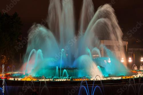 Leinwanddruck Bild Lichtbrunnen
