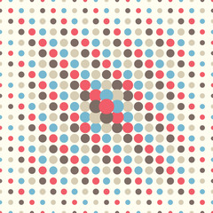 seamless dotted pattern
