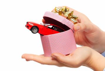 New car gift.