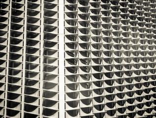 Strange building closeup