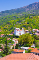 Mountain Village Pedoulas, Cyprus