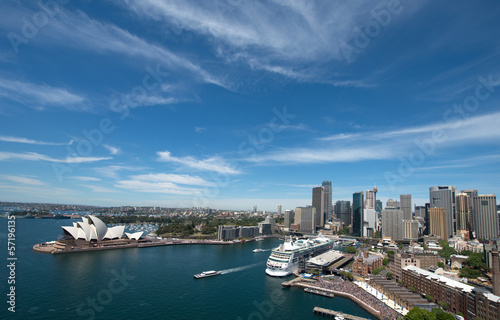 Opera house is the landmark of Sydney