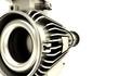 Meccanica, motore, turbina, rotore, elementi, esploso