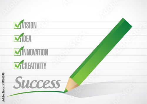 success check mark illustration design