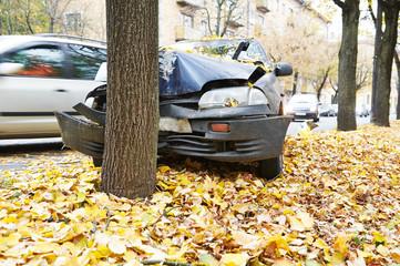 car crash traffic accident