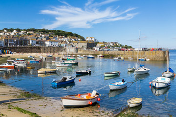 Mousehole Cornwall England UK