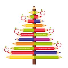 Pencils - tree decoration.eps