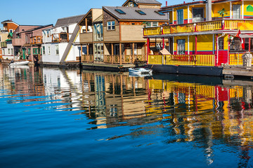Floating Home Village Houseboats Inner Harbor Victoria