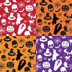 seamless pattern halloween