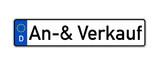 KFZ-Kennzeichen mit An- und Verkauf
