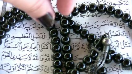 Muslim woman beads