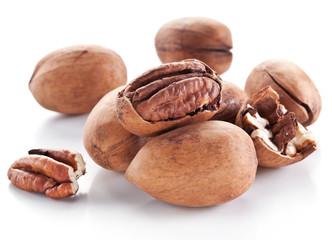 Pecan nuts.