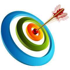 3d Target with ARrow