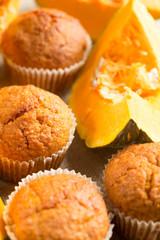 Pumpkin muffins - muffins alla zucca