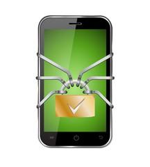 smartphone sicher save