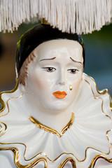 Pierrot vintage lamp