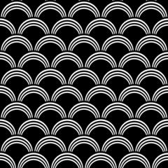 Seamless texture. Arcade pattern.