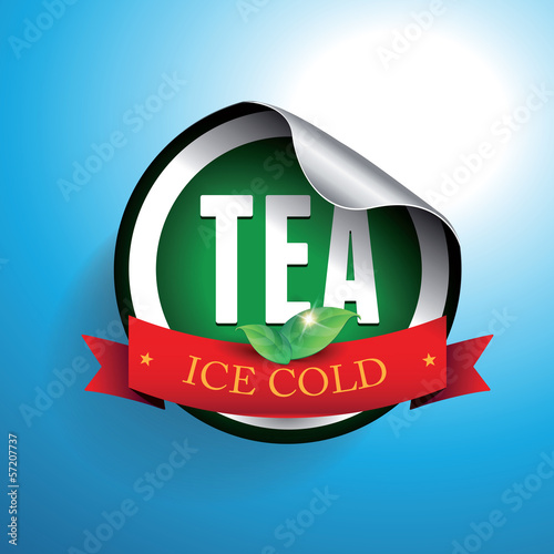 Iced Tea label