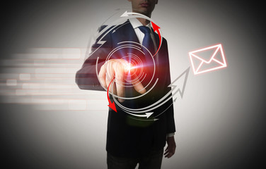 Spedendo una mail