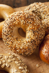 Healthy Organic Whole Grain Bagel