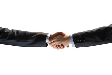 handshake between two businessmen