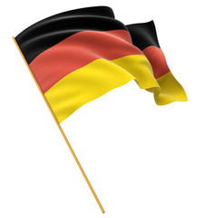 3D German flag