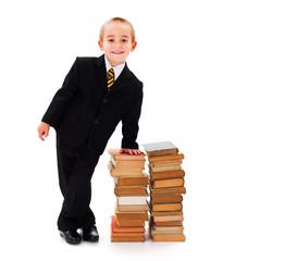Smart Kid Businessman