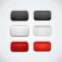Glossy UI buttons