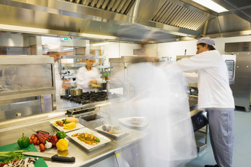 Chefs busy at work