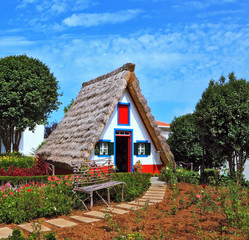 The village - Museum of the Portuguese island of Madeira.