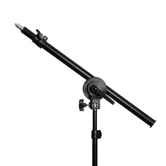 Studio boom arm, light or reflector holder isolated on white