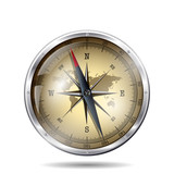 Fototapety compass adventure