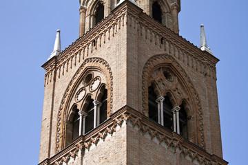 Dettaglio Campanile, Mantova
