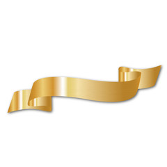 gold vector ribbons for your text