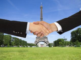 closing a deal in Paris