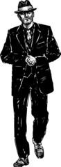 vintage gangster
