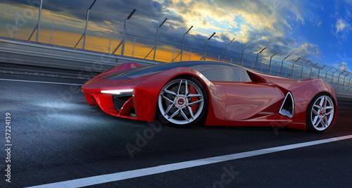 fototapeta na ścianę Przyszłość samochodów fantazja 001