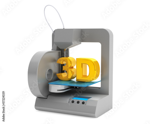 Modern Home 3d printer make object