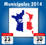 Dates Municipales 2014