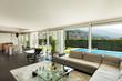 Modern villa, beautiful interiors