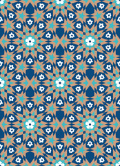 Bonab Seamless Pattern Two