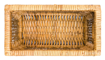 Wicker Basket Drawer Top