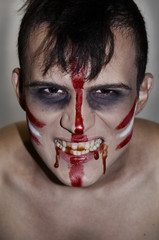 Indian - zombies on Halloween.