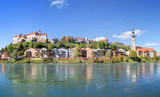 Panorama of Burghausen, Bavaria, Germany