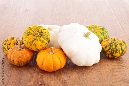 assortment of autumn vegetable