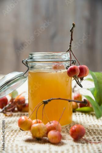 Zierapfel-Frucht-Aufstrich