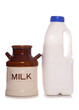 Milk jug and pint