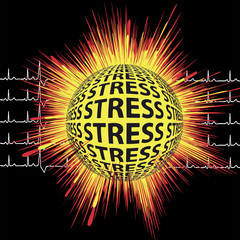 Heart Attack: Stress can lead to sudden death
